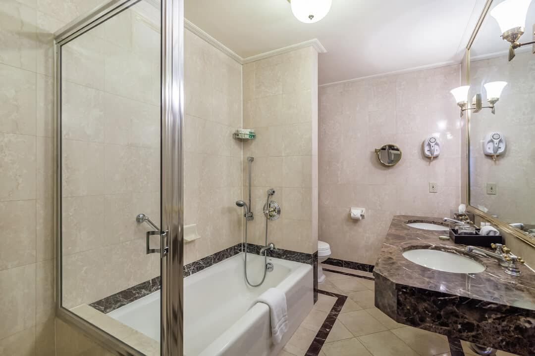 avalon shower tub combo