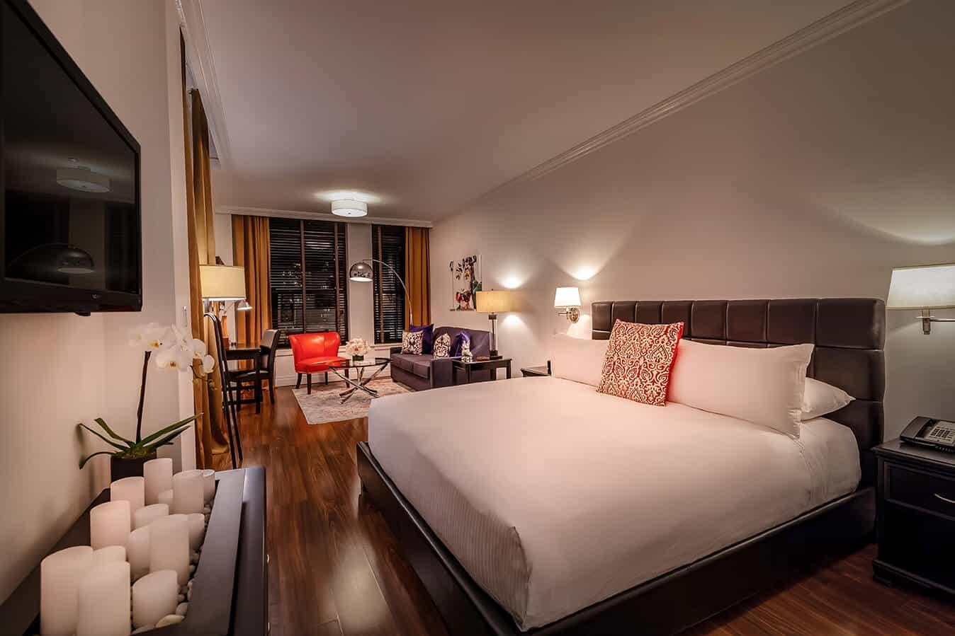 nyc loft at avalon hotel
