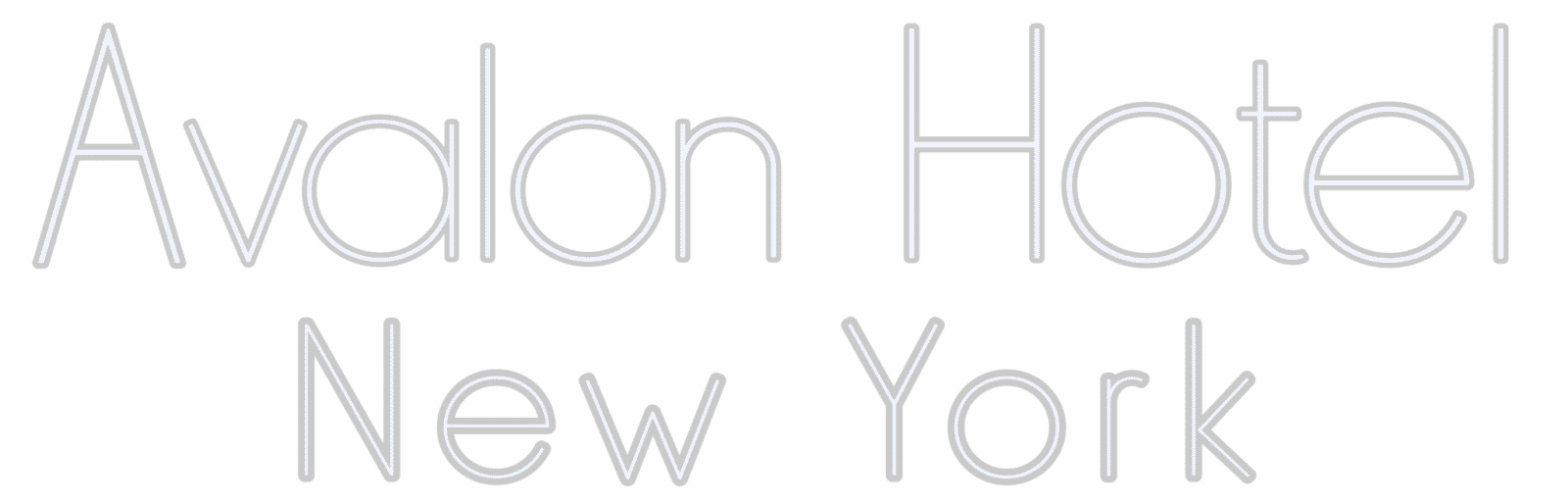 avalon hotel new york logo