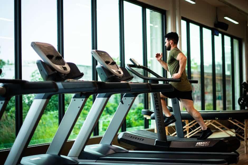man at nyc gym